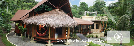 Costa Rica Tree House Lodge: Beach suite video